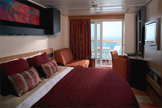 Deluxe Oceanview Stateroom with Veranda