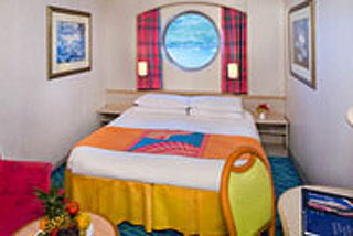 Oceanview Porthole Window Stateroom on Norwegian Sky